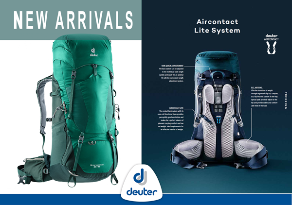 Deuter New Arrivals
